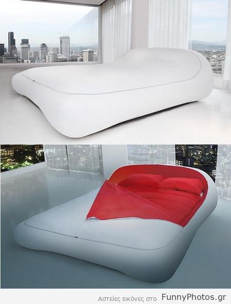 Κρεβάτι με φερμουάρ