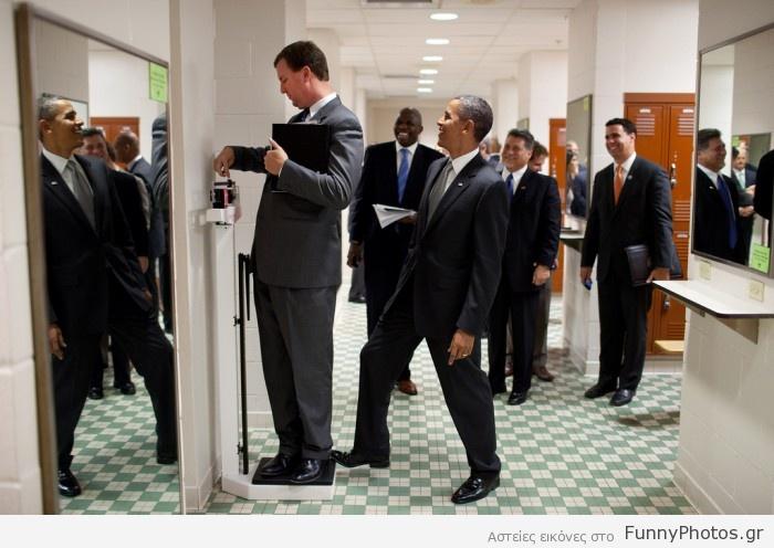 Πλακατζής Obama