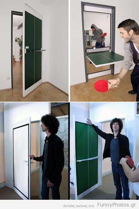 Πόρτα - τραπέζι πινγκ πονγκ