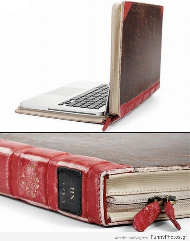 Θήκη-βιβλίο για laptop