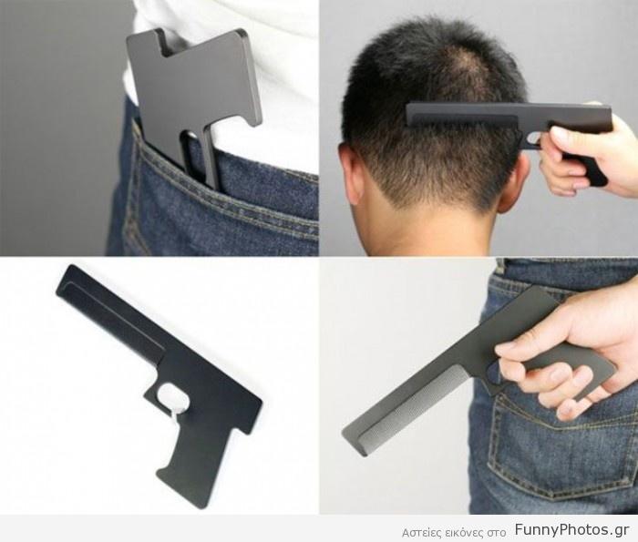 Χτένα - πιστόλι