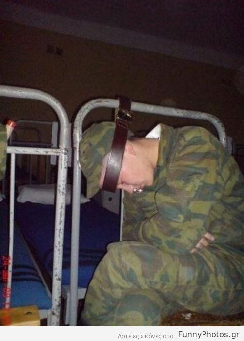 Υπνάκος στο στρατό